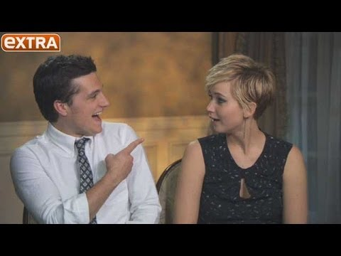 Josh Hutcherson Rates Jennifer Lawrence's Kissing Skills. Watch Her Reaction!