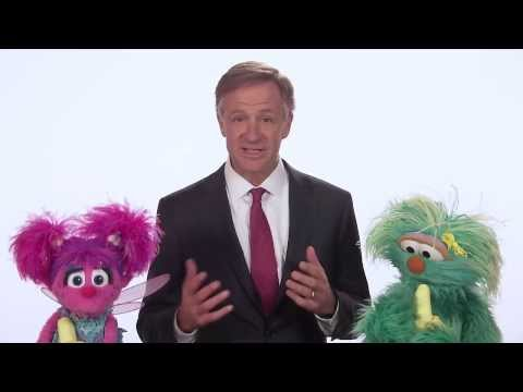 Tennessee Governor Bill Haslam and Sesame Street's Rosita and Abby Cadabby | Eating Healthy | NPT