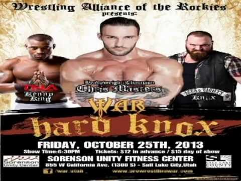 Hard Knox Wwe War Utah Presents Hard Knox