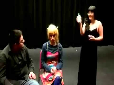 Acnex Acne solution, theater arts infomercial.