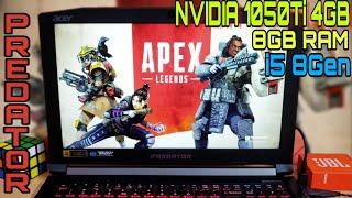 APEX LEGENDS GAMEPLAY ON ACER PREDATOR HELIOS 300 || NVIDIA GEFORCE GTX 1050Ti 4GB