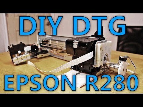 Diy Flatbed A4 Epson R280 In 3 Days P 1