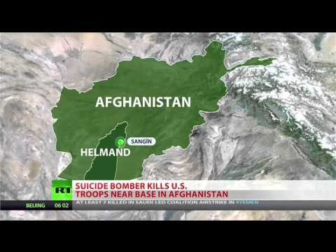 6 US Soldiers killed - Controversy time to leave Afghanistan after 15 Years
