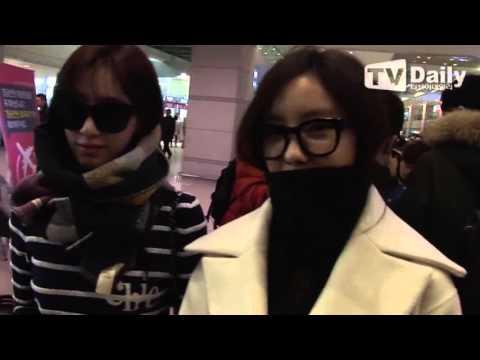 "151123 T-ARA(티아라)"" Incheon Airport Immigration"