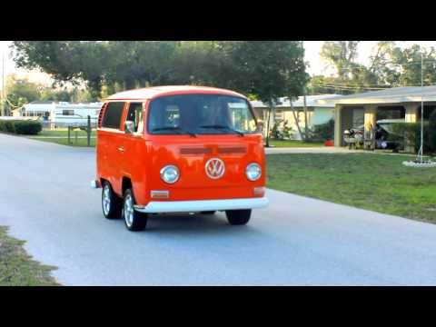 VW Bus Popping Wheelies