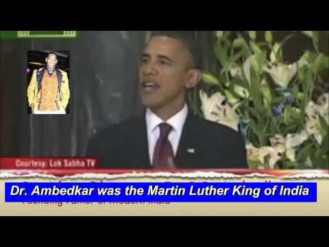 President Obama honored Dr Ambedkar