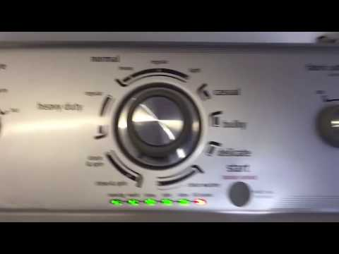 Maytag  washer centennial Repair
