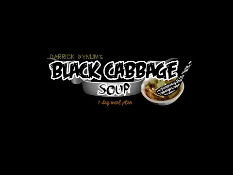 FREE- DB Black Cabbage Soup Diet (Weight Program) –how to Lose weight FAST