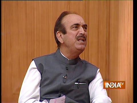 Ghulam Nabi Azad Speaks on Land Acquisition Bill - India TV
