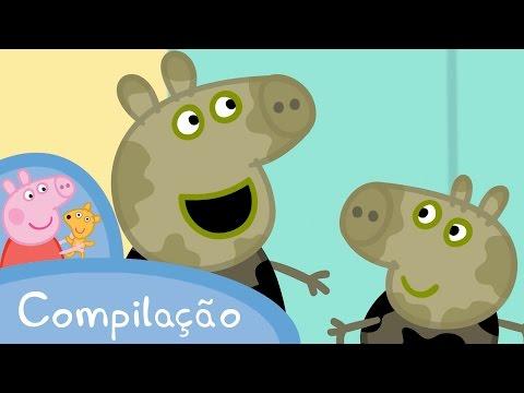 Peppa: Português Compilação 1!