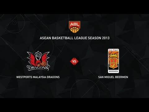 ABL 2013 Season Game 59: Westports Malaysia Dragons vs San Miguel Beermen