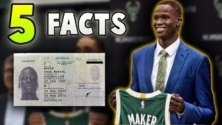 5 Facts You DIDN'T KNOW About Thon Maker