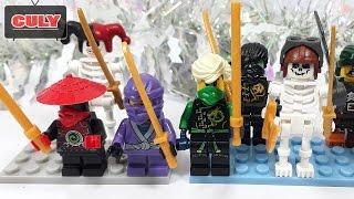 Mở 6 hộp đồ chơi Lego Ninjago và bộ xương lắp ráp brick mini figures  toy for kids