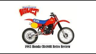 1983 Honda CR480R Retro Bike Review