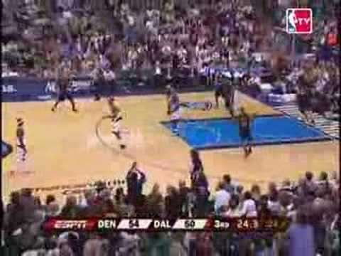 Denver Nuggets vs. Dallas Mavericks (sick and1 by Iverson)