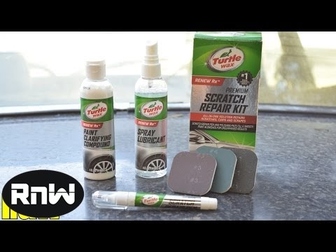 How to Remove Light Scratches Without Any Tools - Turtle Wax Scratch Repair Kit Review