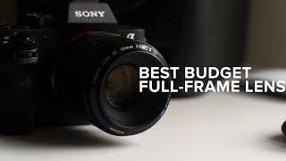 Best Full-Frame Lens on a Budget
