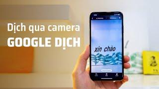 Dùng camera để dịch sang tiếng Việt