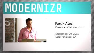 Modernizr with Faruk Ates