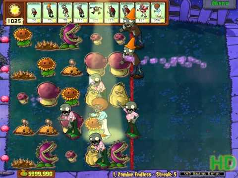 Plants vs Zombies - I,Zombie Endless Streak 1 - 10 Music Videos