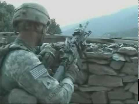 Afghanistan Combat Footage Darbart Village Movement Video