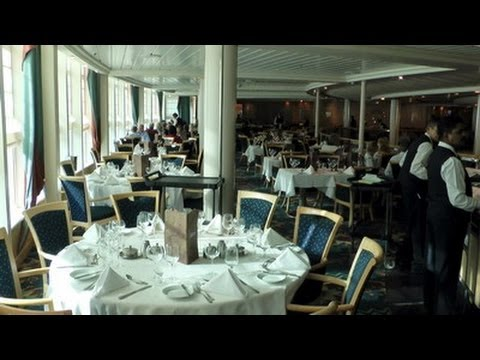Main Dining Room Vision Of The Seas YouTube