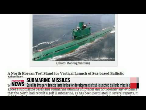 North Korea may be developing submarine-launched ballistic missiles: U.S. think