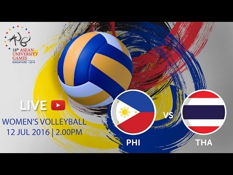 Volleyball Women's: Philippines v Thailand | 18th ASEAN University Games Singapore 2016