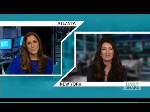Lisa Vanderpump Drops by HLN's The Daily Share