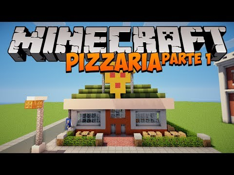 Minecraft: Como construir uma Pizzaria (parte 1)