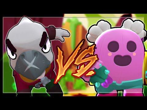 SPIKE VS CROW! Legendary Battles of Brawl Stars!