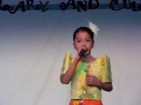 Macy Olegario's Version Of isang Mundo, Isang Awit By Leah Navarro video