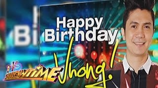 It's Showtime: Birthday greetings for Vhong