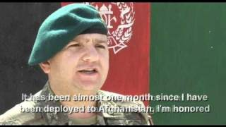 Afghan Army Soldiers Graduate from Non Commissioned Officer Course