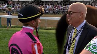 Pre and post race video Preakness 2019