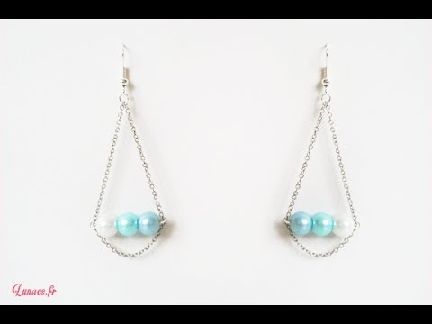Hd Tuto Faire Des Boucles D 39 Oreille Make Earrings Youtube
