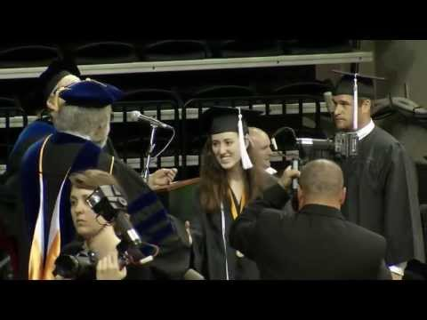 College of Liberal Arts and Sciences commencement part 1