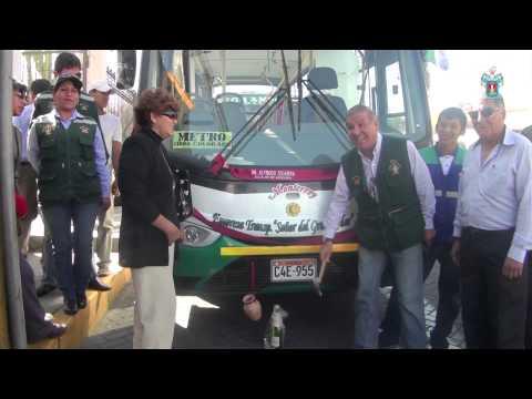 NUEVAS UNIDADES PRESTARÁN SERVICIO A TIABAYA, CERRO COLORADO Y SELVA ALEGRE