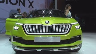Škoda Vision X (2018) Exterior and Interior