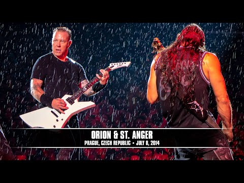 Metallica: Orion And St. Anger (metontour - Prague, Czech Republic - 2014) video