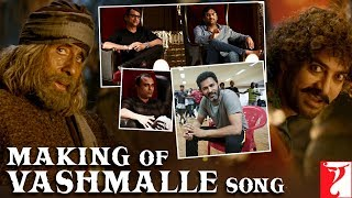 Making of Vashmalle Song | Thugs Of Hindostan | Amitabh Bachchan, Aamir Khan, Prabhudeva, Ajay-Atul