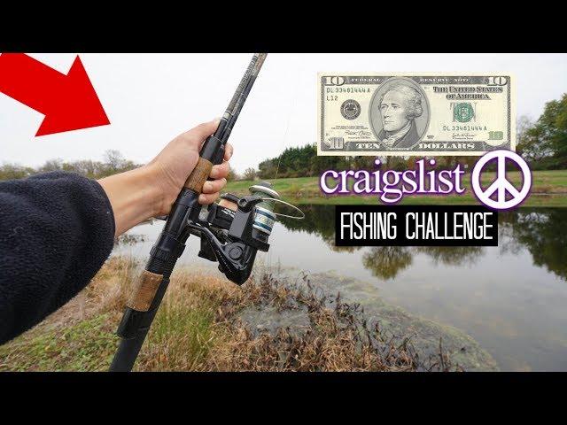 10 Craigslist Fishing Challenge!! Crazy Find!