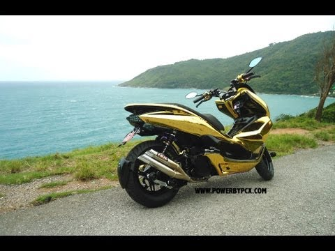 HONDA PCX GOLD Limited Edition by PowerbyPCX Pimp my PCX
