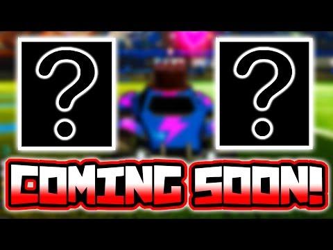 2 UNRELEASED MYSTERY ITEMS COMING SOON!! ( Rocket League Update News )