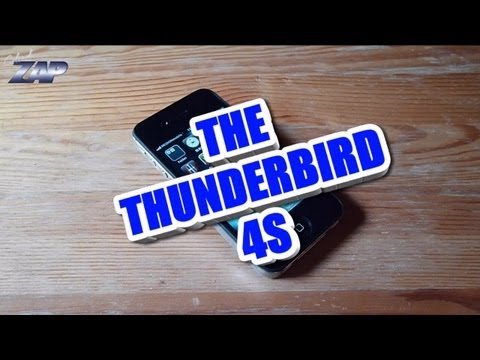 Thunderbird 4S Retina Android Phone Review - MT6575 - Best iPhone Clone? Fastcardtech - ColonelZap