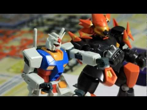 Assembling and Close Ups of LBX Hakai-O from Danball Senki