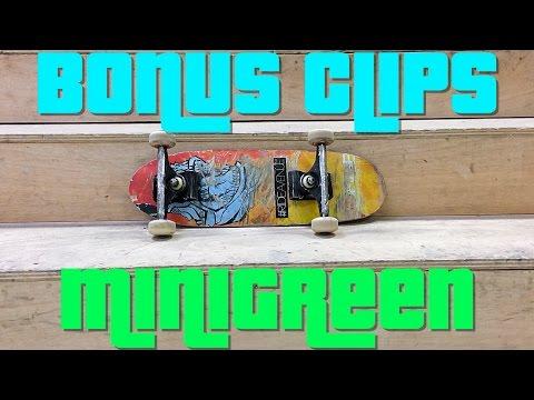 Bonus Clips!  Minigreen 3 Flip 3 Stair!