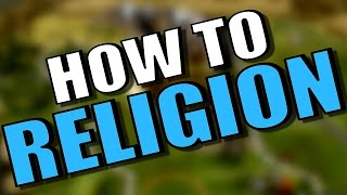How to get an Early Religion? [Civilization 6 Deity Strategy] Tips/Walkthrough Tutorial