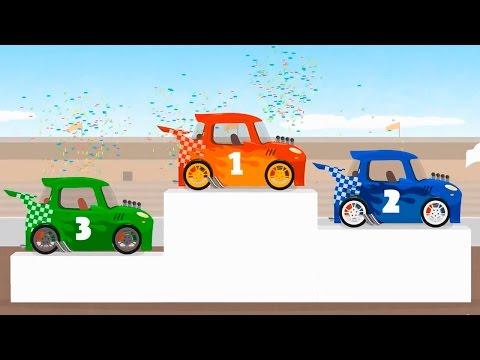 Мультфильмы про машинки - Доктор Машинкова и гоночный автомобиль