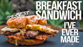 The Best Breakfast Sandwich I've Ever Made | SAM THE COOKING GUY 4K